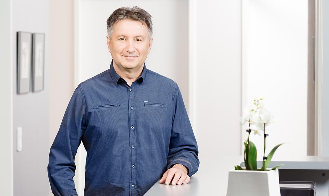 Schmerztherapie - Dahlem Berlin - Team - Portrait Dr. Staisch